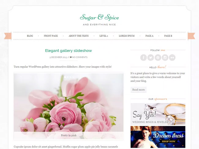 You won't believe how beautiful these 20 free feminine WordPress themes are!
