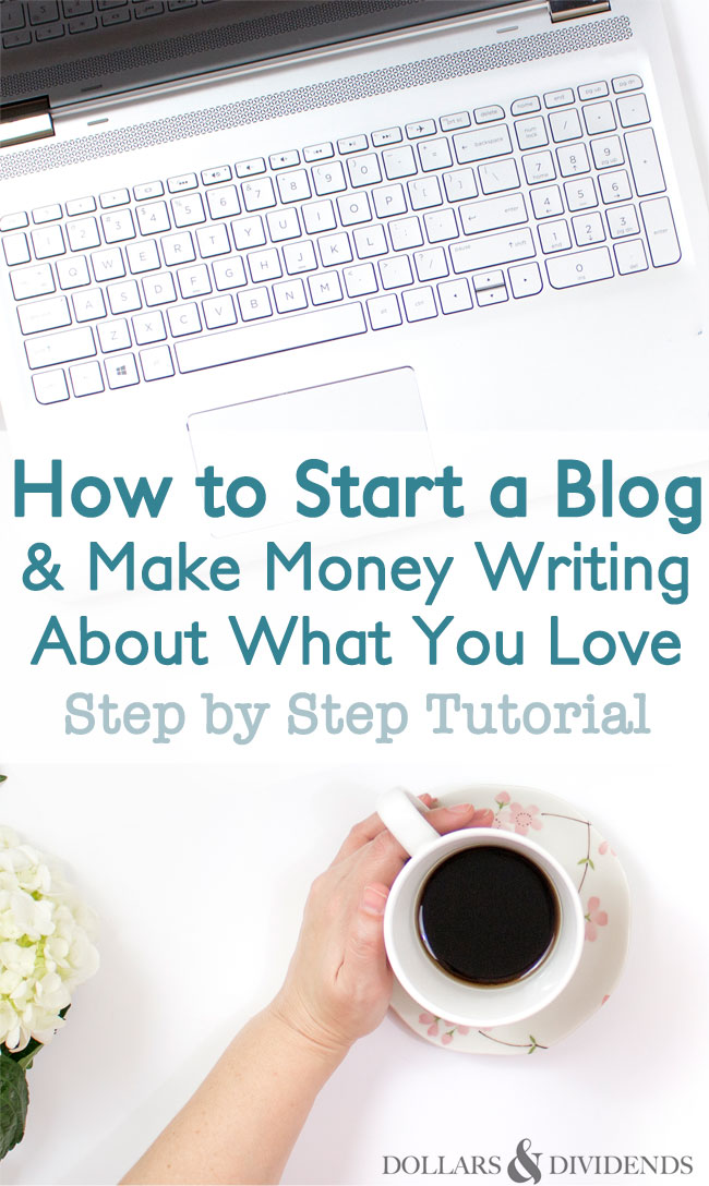 How to start a blog and make money writing about what you for How to build a blog