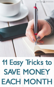 11 Easy Tricks to Save Money Each Month