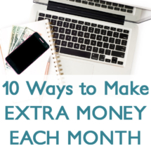 Easy ways to make extra money this month!