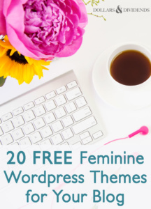 20 FREE Feminine WordPress Themes for Your Blog