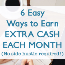 Easy ways to earn extra cash each month