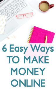 You're on your computer anyway, so why not earn some extra cash while you're at it? Easy ways to make money online.