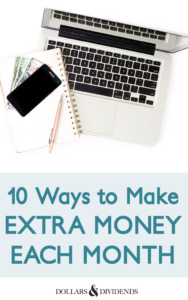 10 Ways to Make Extra Money Each Month