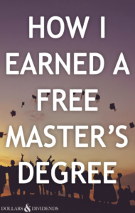 How I Earned a Free Master's Degree